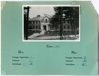 Vosburgh Hall, Pownal State School, ca. 1953