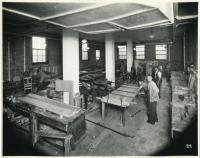 Woodshop, Pownal State School, ca. 1937
