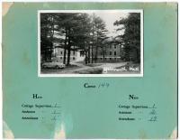 Yarmouth Hall, Pownal State School, ca. 1953