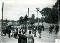 Boy Scouts on parade, Biddeford, 1916