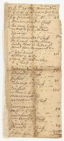 List of tribes and chiefs, 1726