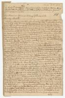 Deposition regarding capture of Samuel Whitney, Brunswick, 1751