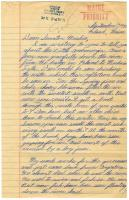 Student letter to Edmund Muskie, Poland, 1970