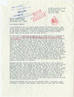 Letter to Muskie on Portland pollution, 1970
