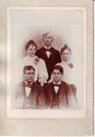 Graduating class, North New Portland High School, 1897
