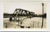 Railroad bridge, Brunswick, 1936