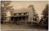 The Pines, Grand Lake Stream, ca. 1915
