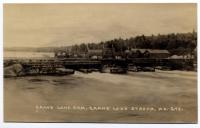 Grand Lake Dam, Grand Lake Stream, ca. 1915