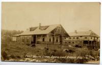 Prof. White camp, Grand Lake Stream, ca. 1920