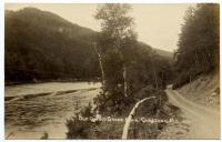 Old Quebec Stage Road, Caratunk, ca. 1920