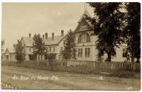 Street view, Fort Kent, ca. 1915