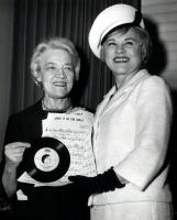 Margaret Chase Smith and Hildegarde, 1964