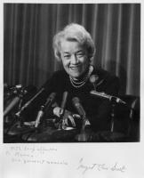 Margaret Chase Smith Press Conference, Illinois, 1964