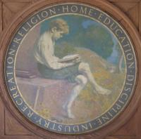 Good Will Farm roundel, Fairfield, 1918