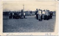 Military training, Good Will Farm, 1917