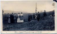 Senior Spring, Good Will Farm, Fairfield, 1918