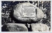 Roosevelt Tablet, Good Will Farm, 1921
