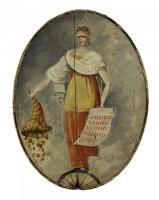 Lottery sign, Portland, ca. 1820