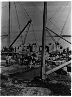 Derricks, Fort Preble, ca. 1860