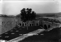 Parade Ground at Fort Knox, ca. 1920