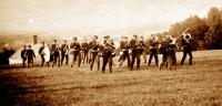 Band of the First Connecticut Infantry at Fort Knox, 1898