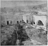 Workers Buidling Fort Knox, ca. 1860