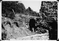 Katahdin Ironworks Furnace Restoration, 1966