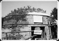 Katahdin Ironworks Kiln Restoration, 1966