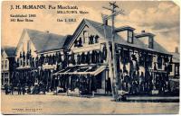 Fur merchant, Calais, 1913