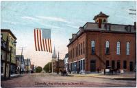 Main at Church Street, Calais, ca. 1905