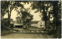 Main Street, Damariscotta Mills, ca. 1922