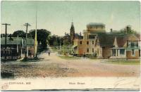 Main Street, Corinna, ca. 1910