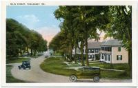 Main Street, Wiscasset, ca. 1930