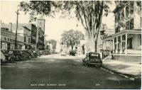 Main Street, Norway, ca. 1940