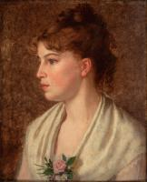 Mary King Longfellow portrait, ca. 1870