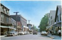 Business district, Bar Harbor, ca. 1960