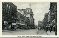 Congress Street, looking west from Brown Street, Portland, ca. 1940