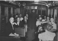 Trolley, Saco, July 5, 1939