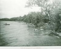 Nickerson Lake, Houlton, 1895