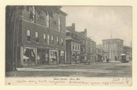 Main Street, Saco, ca. 1910
