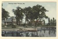 Deering Oaks, Portland, ca. 1910