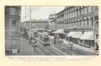 Looking toward Monument Square, Portland, ca. 1905