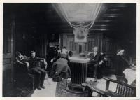 Captain's Cabin, <em>Washington B. Thomas</em>, Thomaston, ca. 1903