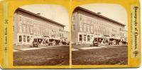 Union Block Stereo View, Thomaston, circa 1870