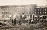 Watts Block Fire, Thomaston 1915