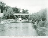 Bangor and Aroostook Railroad Bridge, Houlton, 1895