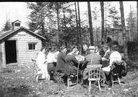 Picnic at Good Will Farm, ca. 1915