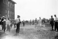 Cross-country race at Good Will Home, Fairfield, ca. 1920