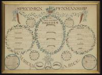 Rice specimen penmanship, Portland, 1819