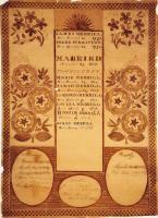 Merrill family record, ca. 1815